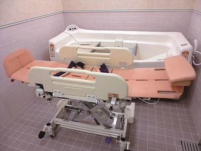 老人ホーム寝浴槽