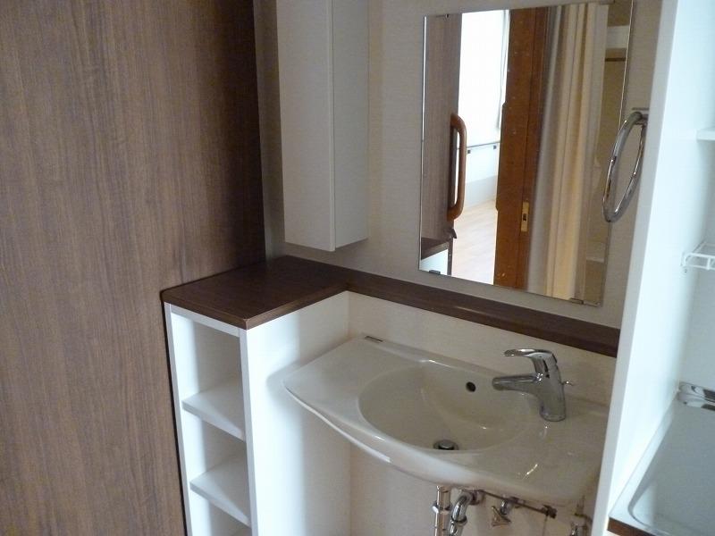 サ高住手洗い場居室