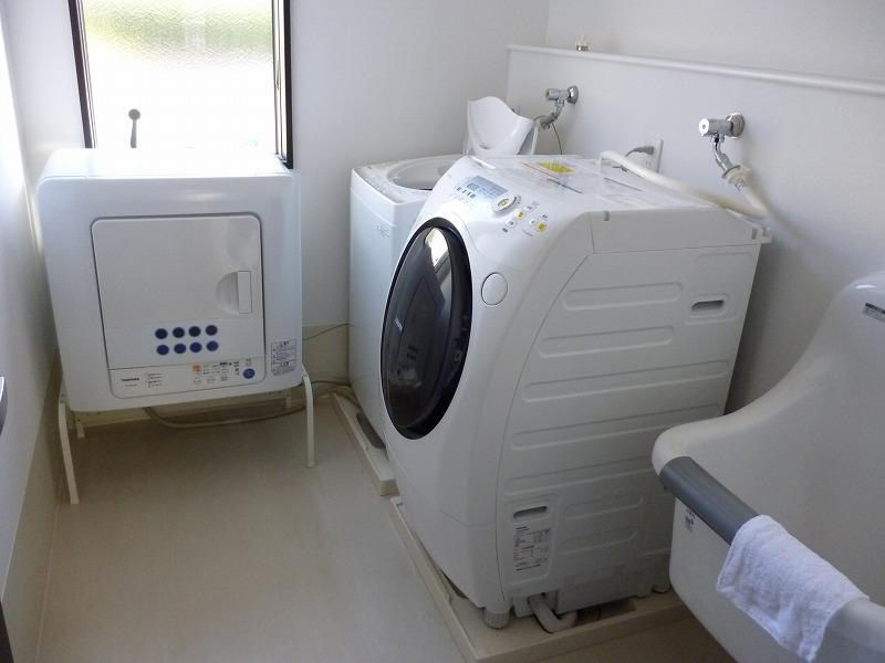 老人ホーム共有洗濯物
