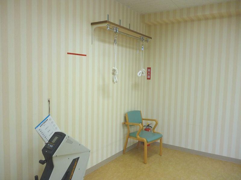 老人ホーム機能訓練室