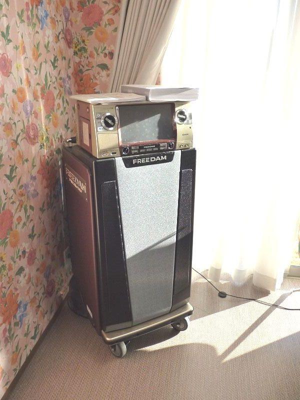 老人ホームカラオケ機器