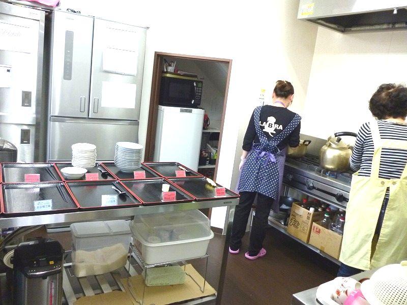 老人ホーム厨房手作り