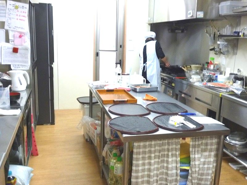 老人ホーム厨房